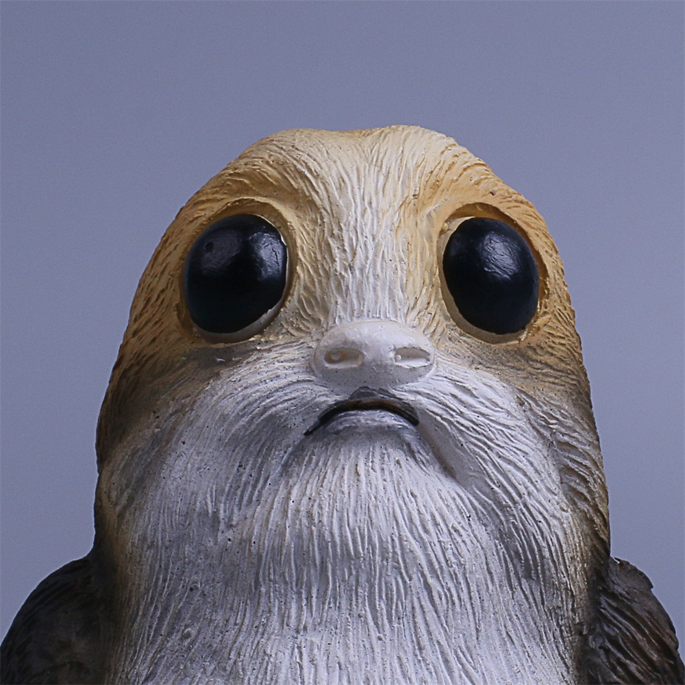 Star Wars The Last Jedi Porg Action Figure Cosplay Porg Toy Doll Christmas Gift Resin (9)