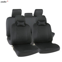 Universal Leather Car Seat Covers For Volkswagen Vw Passat B5 B6 B7 Polo 4 5 6
