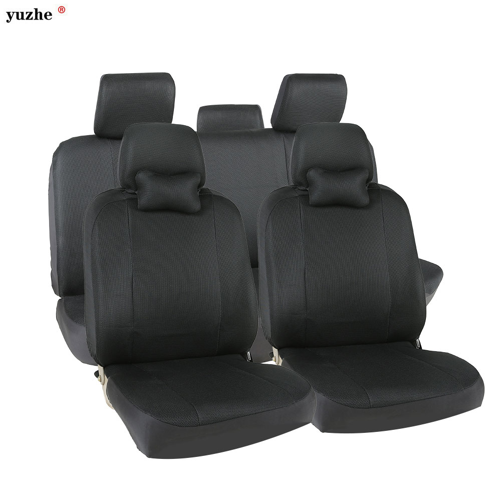 Universal car seat covers For Volkswagen vw passat b5 b6 b7 polo 4 5 6 7 golf tiguan jetta touareg kia car accessories styling car seat cushion three piece for volkswagen passat b5 b6 b7 polo 4 5 6 7 golf tiguan jetta touareg beetle gran auto accessories