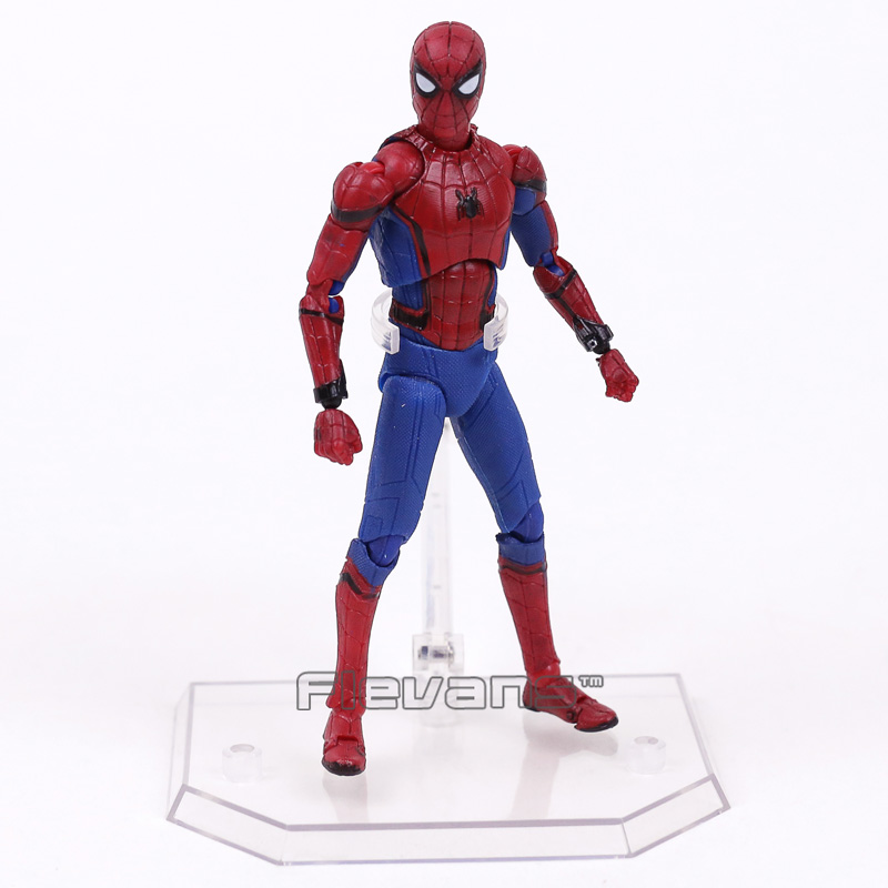 Image 2 - Mafex 047 Spider Man Homecoming Spiderman PVC Action Figure Collectible Model Toy 14cmmodel toyfigures collectiblespvc action figure -