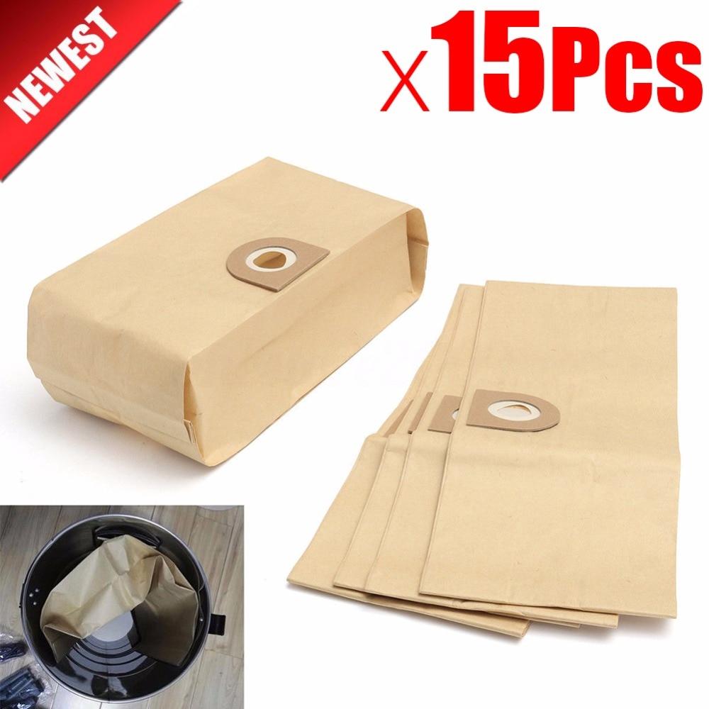 15Pcs Vacuum Cleaner Parts Dust Filter Bags For VAX V10 V11 V12 V100 101 121 2000 4000 5000 6000 6131 6135 6140 6140 6155 6510SX