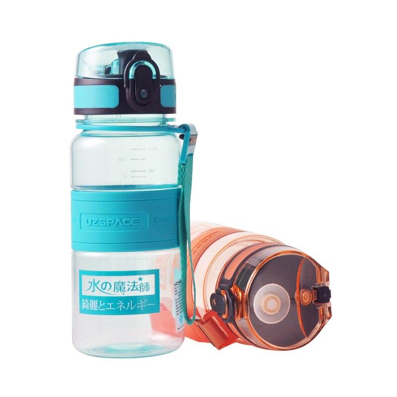 Proteína Botella de Agua Uzspace Iones de Salud Botella Estudiantes Deportes Plá