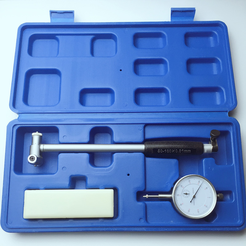 Dial Bore Gauge 50-160MM Diameter Indicator Measuring Engine Cylinder Tool Kit цена