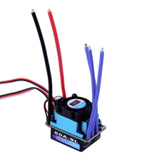 Hot Racing 60A ESC Brushless Electric Speed Controller For 1 10 RC Car Truck New Sale