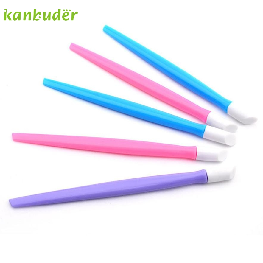 1Pc Manicure Tool Nail Art Stick KANBUDER FeatheringWomen Cuticle Pusher Remover Pedicure AP20
