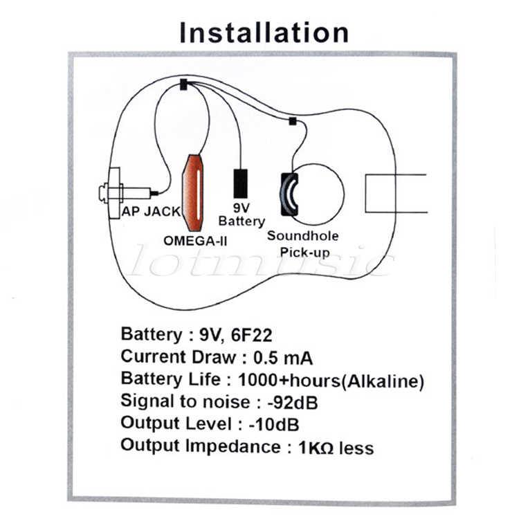 piezo guitar jack wiring diagram belcat acoustic guitar ap 55 active power jack sound hole with  belcat acoustic guitar ap 55 active