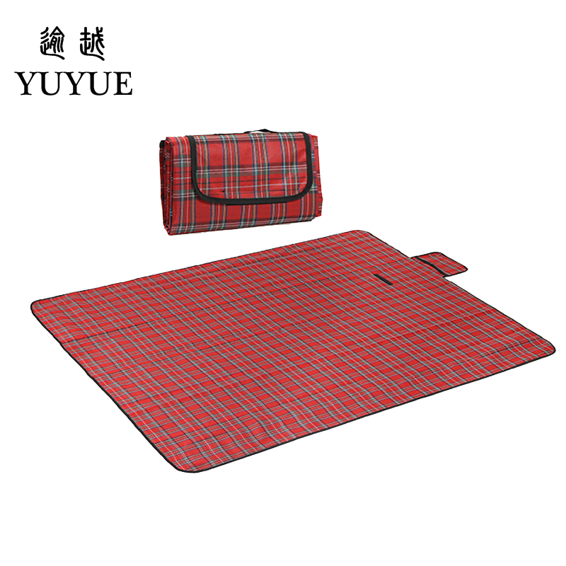 150*180cm picnic mat for outdoor camping fishing picnic camping mat beach blanket for tents outdoor camping fishing hiking 0