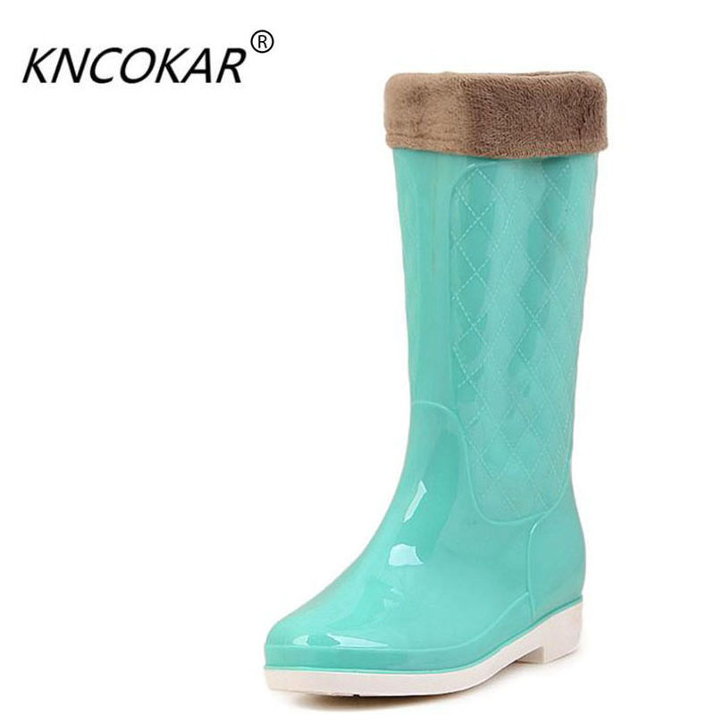 Rain set of antiskid rubber shoes tall canister boots their ensure water. Lady shoes with velvet han edition high rain shoes fundamentals of physics extended 9th edition international student version with wileyplus set