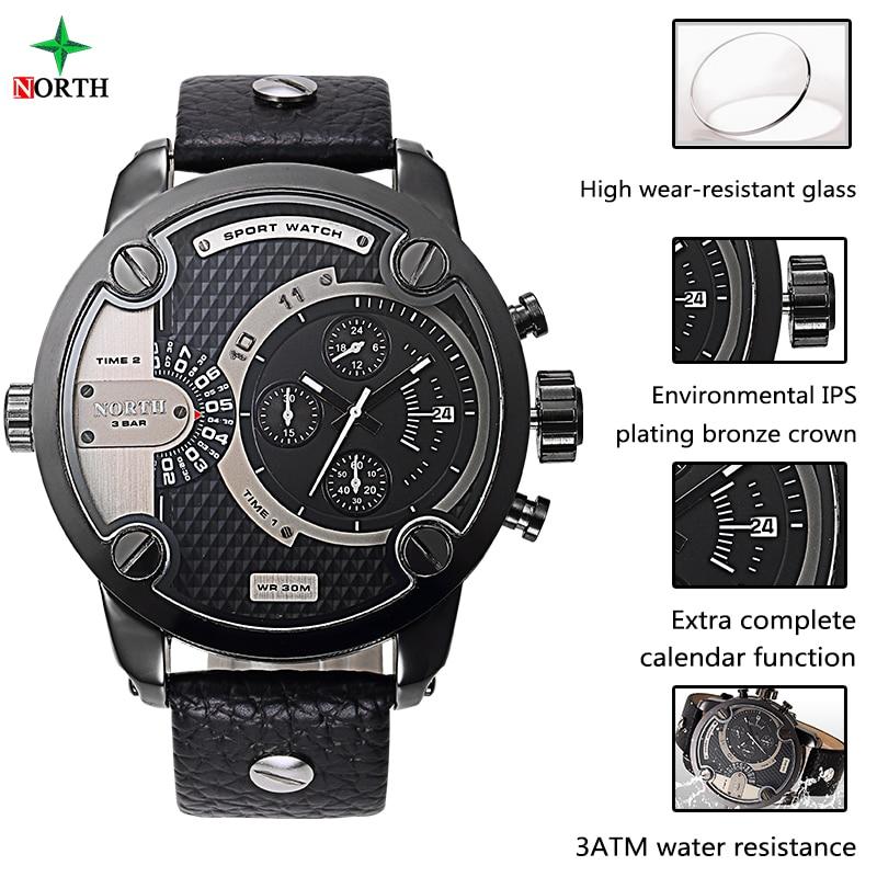 Reloj deportivo masculino Marca de lujo Moda Hombre Reloj 30 M Acero - Relojes para hombres - foto 3