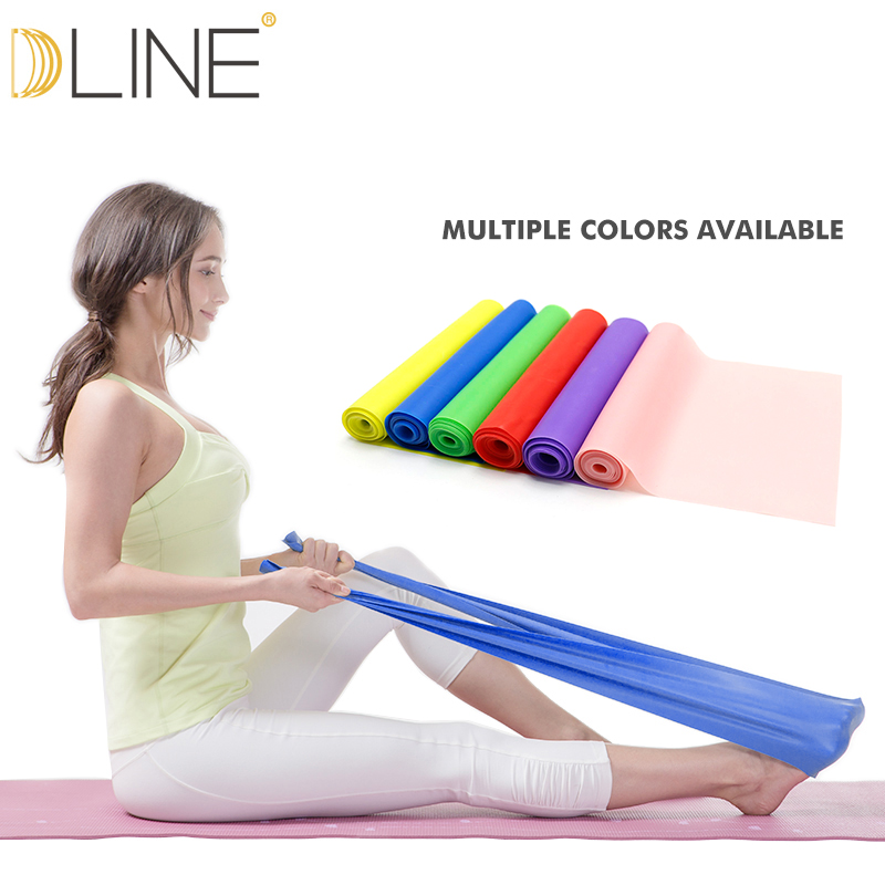 1.5m Pilates Elastic Band For Fitness Resistance Bands Rubber Bands Yoga Stretching Belt Pull up Gym Body Exercise Band resistance fitness band stretching strap elastic exercise rope suitable for men