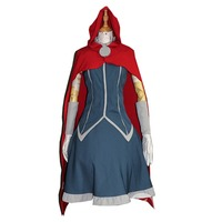 2016 The Avengers Cosplay Thor costume set Halloween Female Style