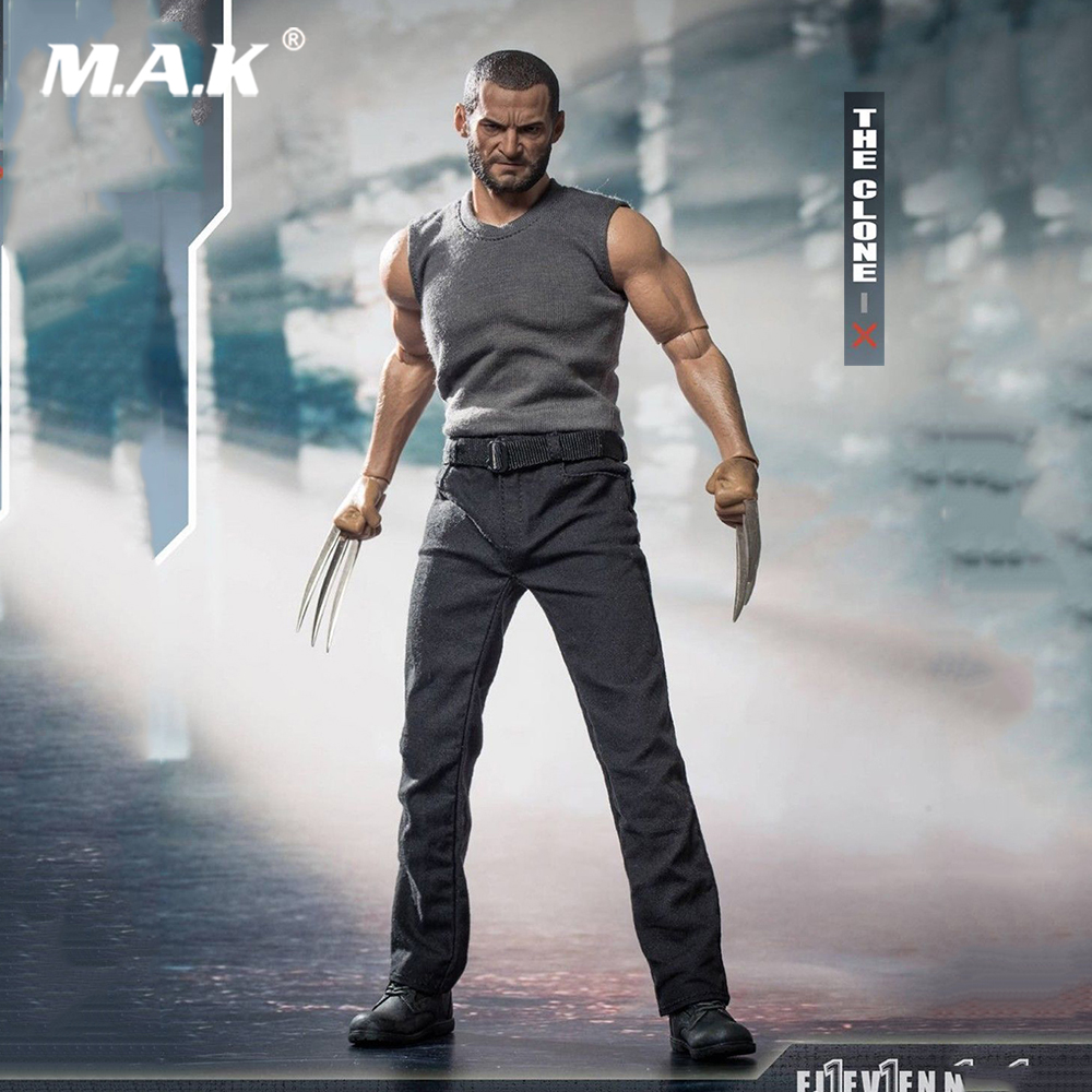 все цены на 1/6 Scale ELEVEN THE CLONE X Wolverine Action Figure with head and body and the clothing set boxed packing Clone Wolverine онлайн