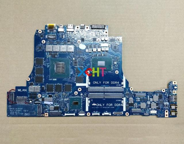 עבור Dell Alienware 15 R3 17 R4 RNF7V CN 0RNF7V BAP10 LA D751P i7 7700HQ N17E G2 A1 GTX1070 8 gb האם Mainboard נבדק