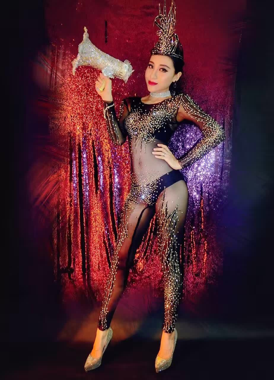 New-Nightclub-Women-s-Black-Rhinestones-Jumpsuit-Outfit-Shinny-Sexy-One-Piece-Party-Dress-Costume-With (1)
