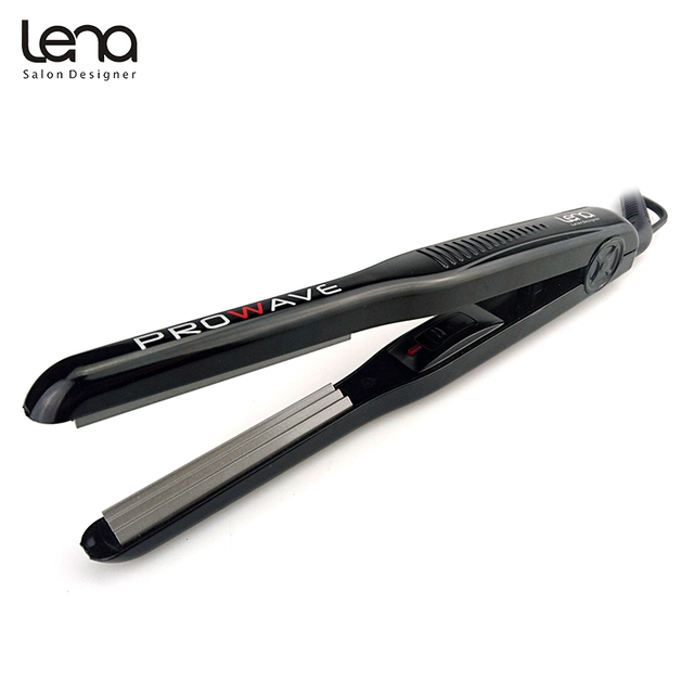 Lena LN 328 220V Professional Crimper Ceramic Corrugated Curler Curling Iron Hair Styler Electric Corrugation Wave Hair