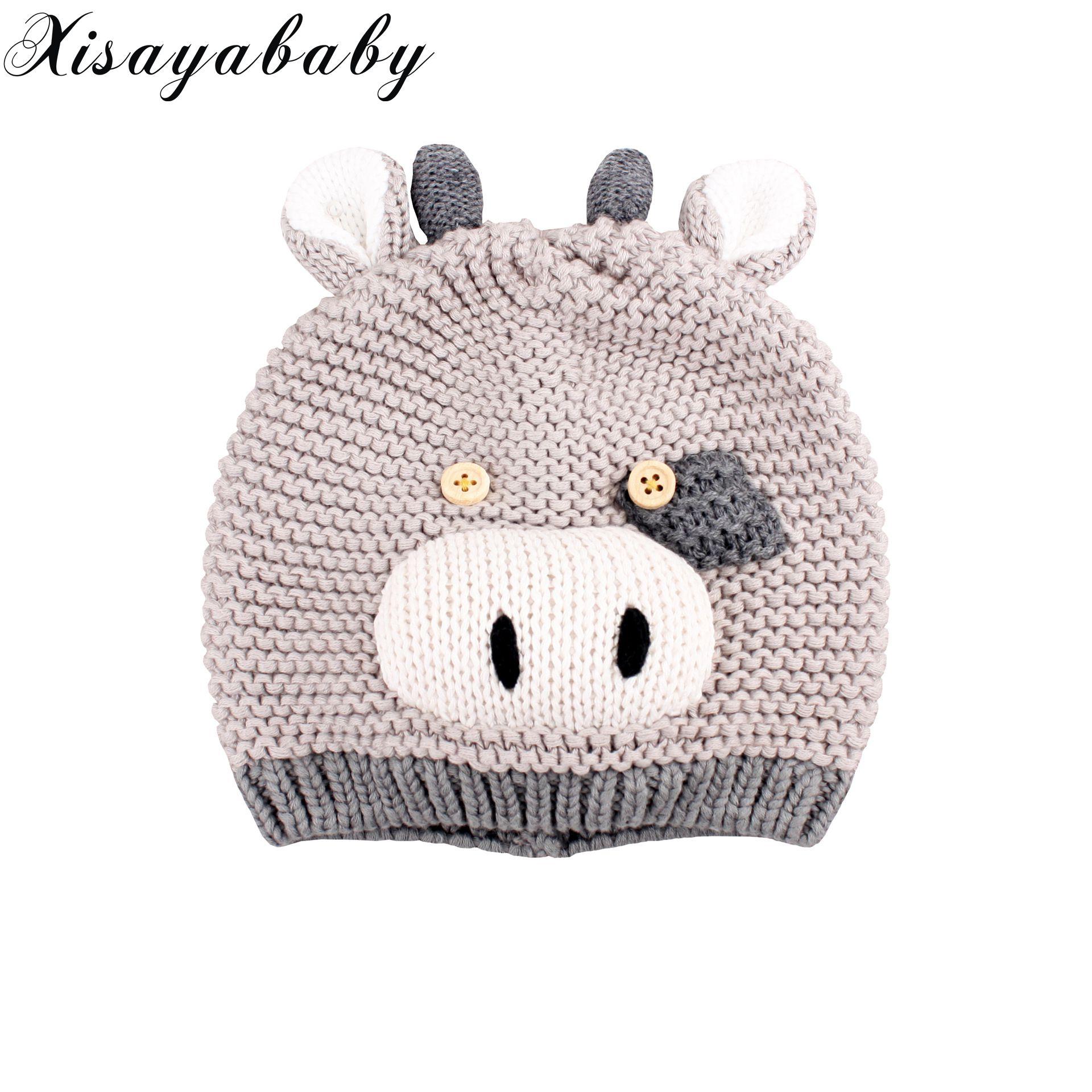Xisayababy nuevo otoño invierno Bebé historieta del sombrero de ...