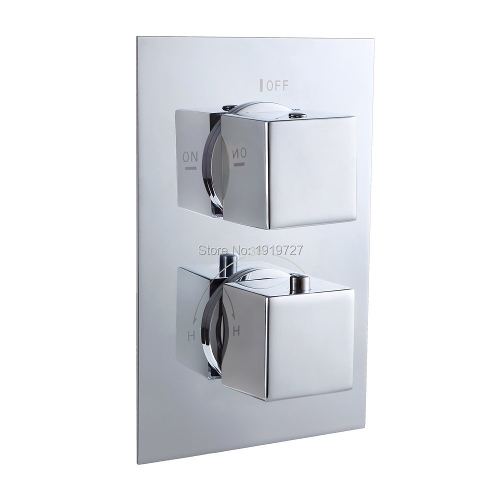 High Quality Professional Design Thermostatic Mixer Valve: High Quality Concealed Bathroom Bath Thermostatic Shower