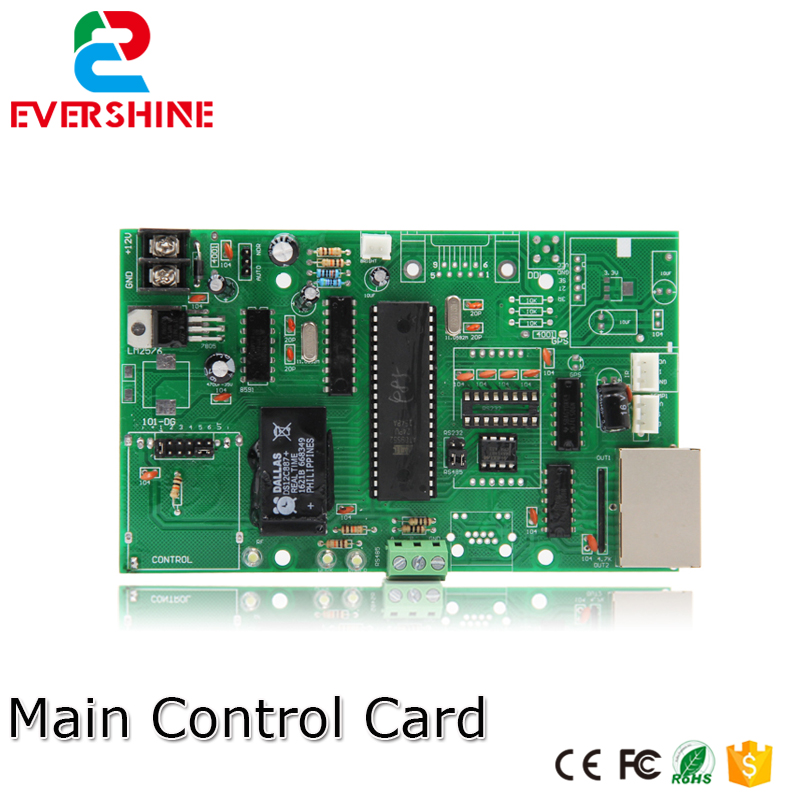 Main Control Card 12V RS485 Gas Oil Price LED Sign Control Board Use For All Size Led Digital Number Module For Gas Station