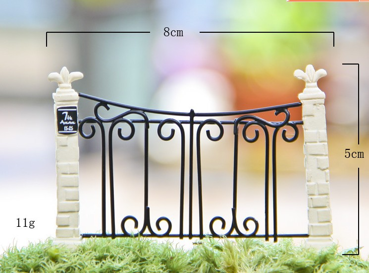 Buy new arrival 1pcs garden door fence for Decoration jardin printemps