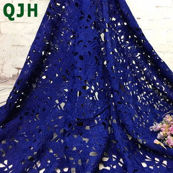 5y Bilateral Symmetry Cotton Openwork Embroidery Lace Fabric for Dress Skin-friendly Soft Water-soluble classic lace Accessories