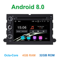 4GB RAM Android 8.0 Car DVD Player for Ford F150 F350 F450 F550 F250 Fusion Expedition Mustang Explorer Edge with BT Wifi