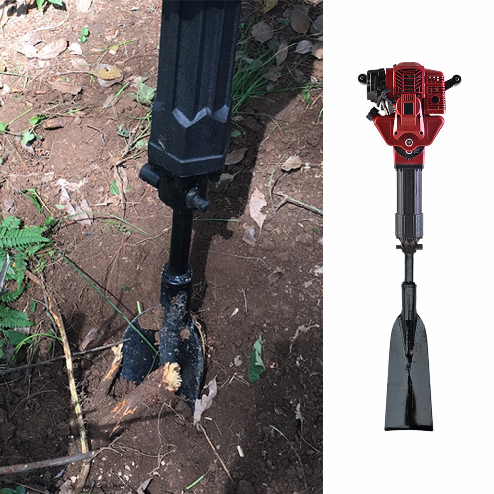 Troisième génération de deux temps essence puissante Machine fer arbre pelle et bêche cassé manuscrit accessoires pour le jardinage