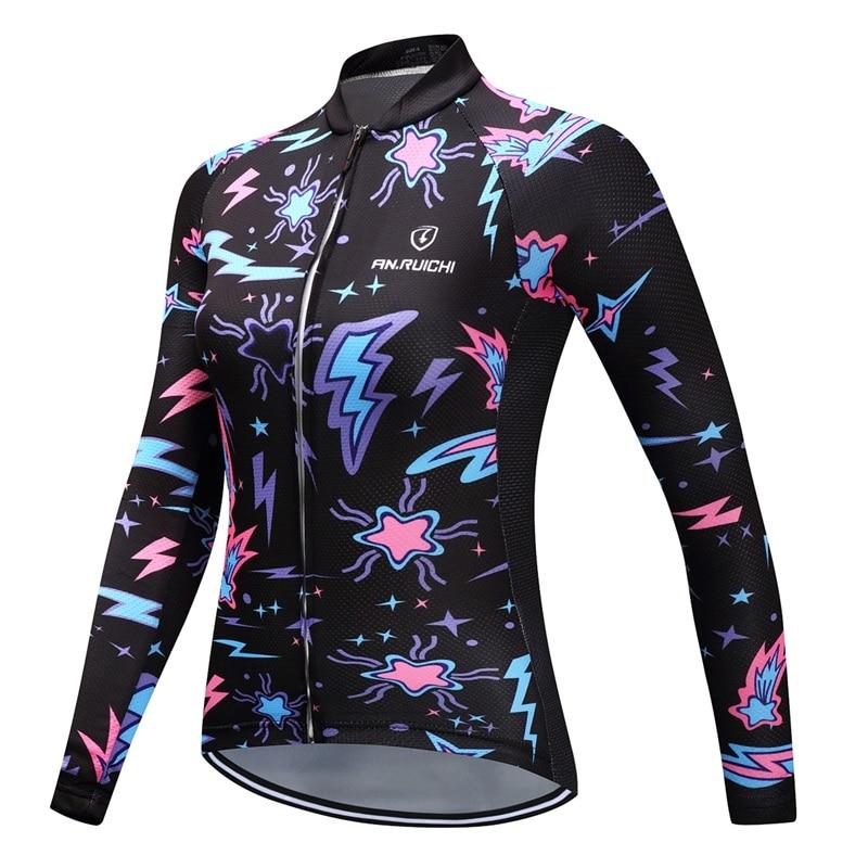 AN.RUICHI So Cool New Style Ropa Ciclismo Cycling Jersey/Mountain bike Sportswear Cycling Clothing Women