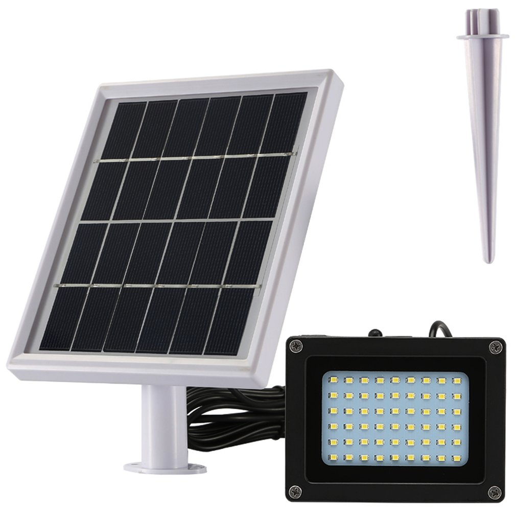 Outdoor Lighting Industrious 3w 54led Solar Panel Power Split Type Pir Motion Sensor Remote Control Home Led Ceiling Ground Insert Light Lamp Wholesale Solar Lamps