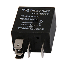 12V 20/30 Amp 5 Pin SPDT Car Relay, Electrical Relay Switch for Automotive Truck Boat Marine цена и фото