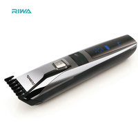 Electric Hair Clipper Professional Hair Trimmer Rechargeable Lithium Battery Continuous Work Up To 4 Hours Aluminum
