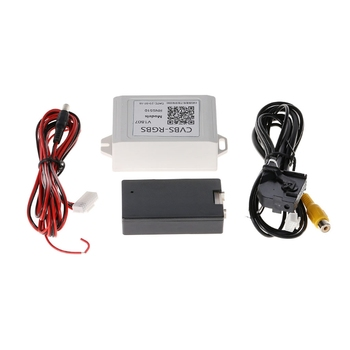1 Set DC 12V Auto Car Backup Camera Rearview RGB To AV Converter Adapter For VW Volkswagen RNS510 Q84E