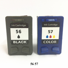 Vilaxh  56 or Color 57 XL Ink Cartridge Replacement for HP 56 57 HP56 HP57 Deskjet 2100 220 450 5510 5550 5552 7150 7350 Printer replacement printer magnetic roller for hp 2100 2200