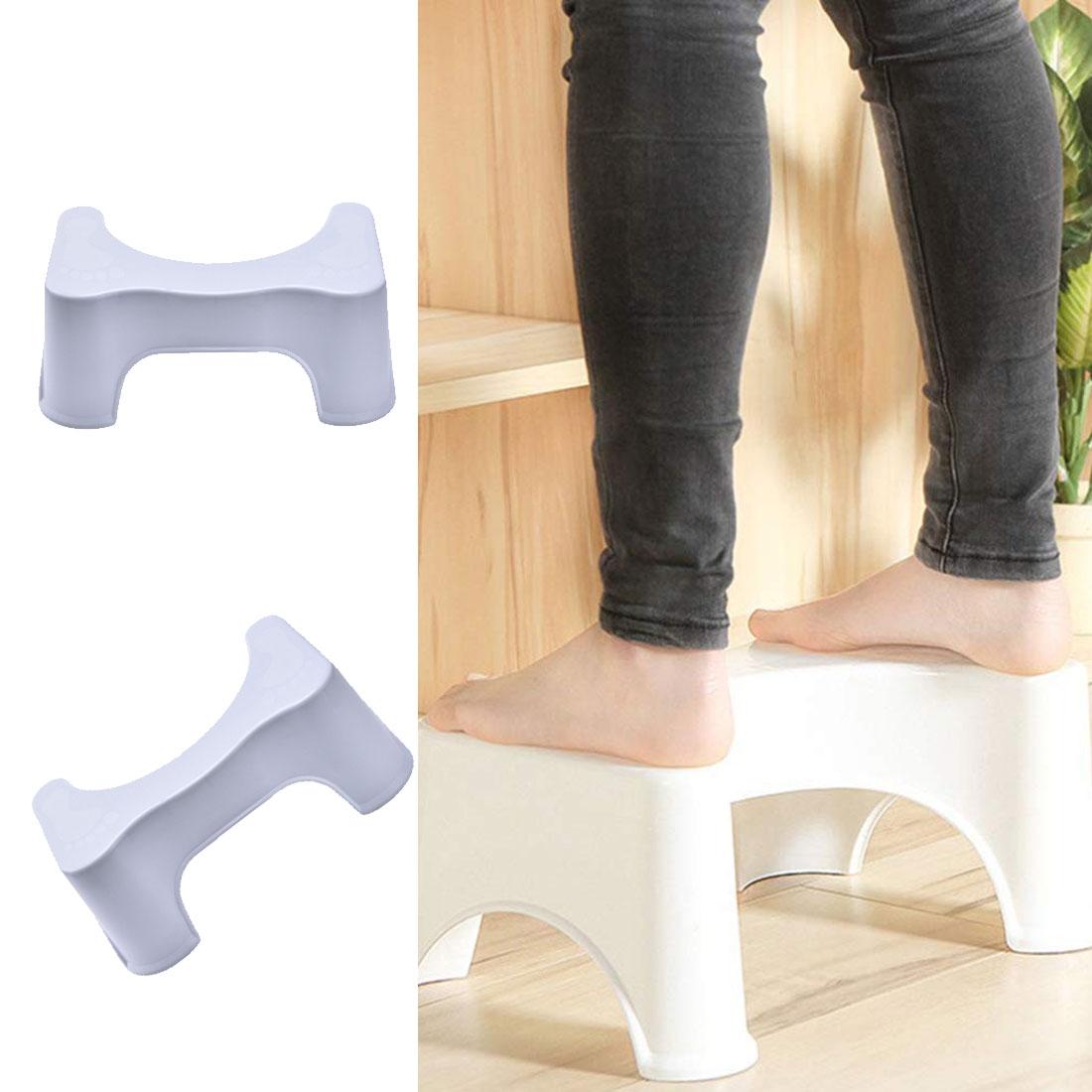 Bathroom Set U-Shaped Toilet Stool Bathroom Non-Slip Stool Helper Assistant Foot Seat Squatting Children Pregnant Footstool