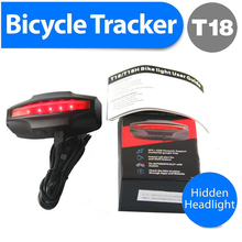 T18 Waterproof gps bike tracking Device remotely control Long Battery Life