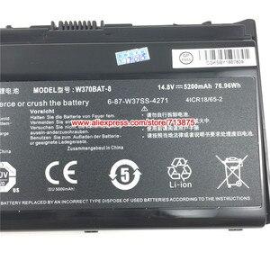 Image 3 - Genuino W370BAT 8 (SIMPLO) 6 87 W37SS 427 W350ET Batteria per Clevo W370ET W350ST W350ETQ W370SK K590S K650C K750S W35XSS 370SS