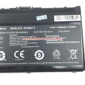 Image 3 - 本 W370BAT 8 (SIMPLO) 6 87 W37SS 427 W350ET バッテリー clevo W370ET W350ST W350ETQ W370SK K590S K650C K750S W35XSS 370SS