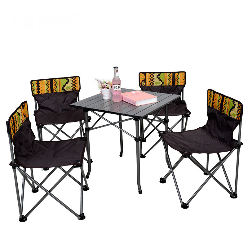Outdoor Folding Table And Chair Set Portable Foldable Picnic Table And Chairs Outdoor Furniture Meble Ogrodowe