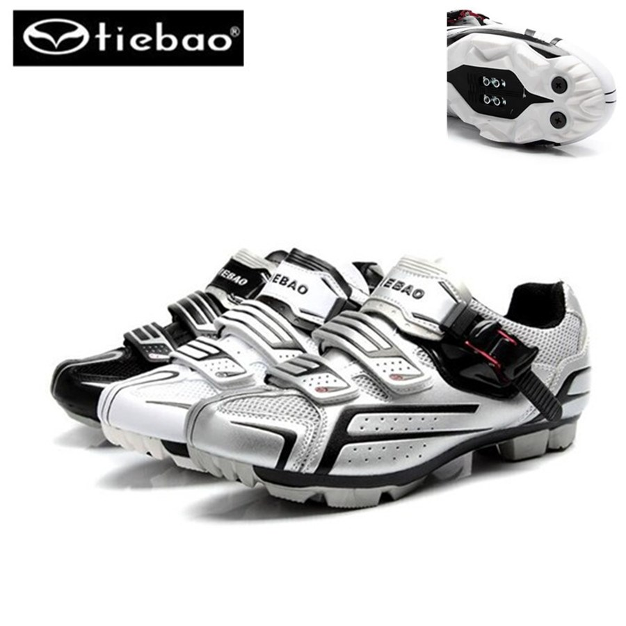 Tiebao cycling shoes sapatilha ciclismo mtb mountain bike sneakers chaussure vtt scarpe ciclismo strada mtb spd shoes casio hs 3v 1r