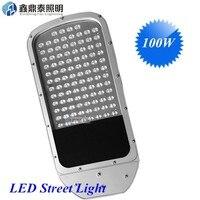 Новый 100 Вт светодиодные огни улицы 100 Вт LED IP65 Epistar 130lm/W LED светодиодный уличный фонарь Дорога лампы 2 летняя гарантия 10 шт./партия