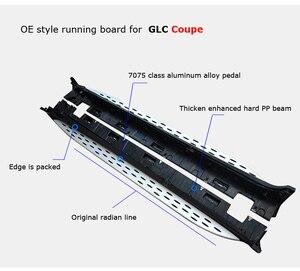 Image 3 - حار الجانب خطوة قضيب جانبي تشغيل المجلس لمرسيدس بنز GLC كوبيه 2016 2020 ، من البائع القديم ، ونوعية موثوقة ، يمكن تحميل 300 كجم