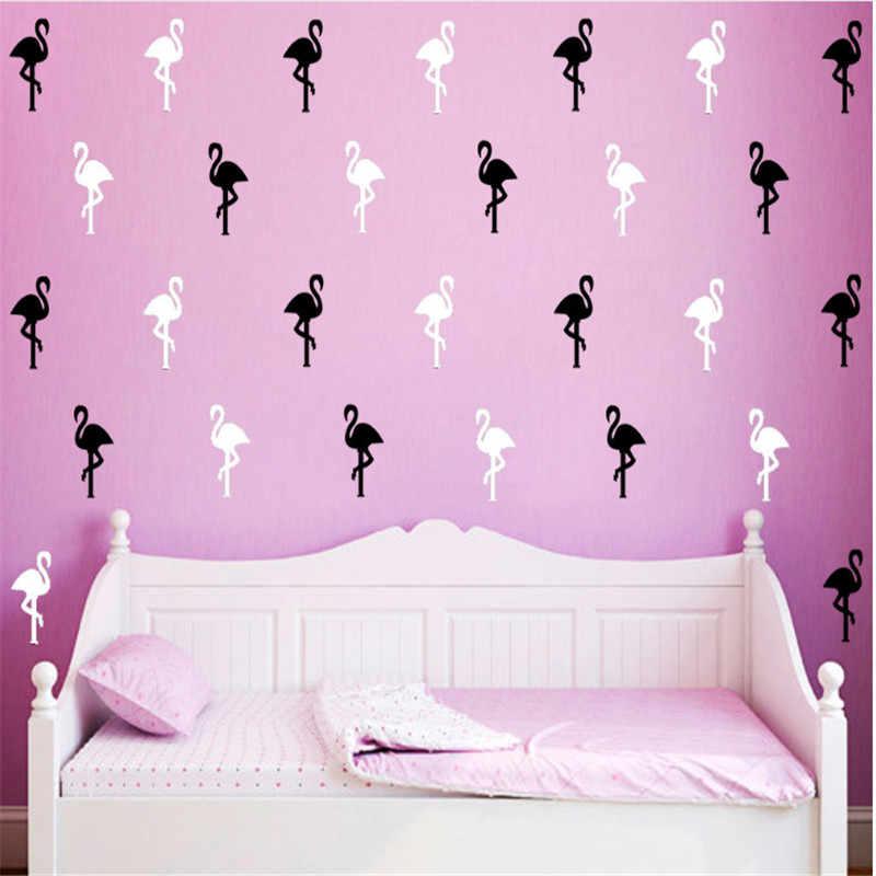 28 5 23cm Flamingo Wall Stickers Bird Pattern Wallpaper