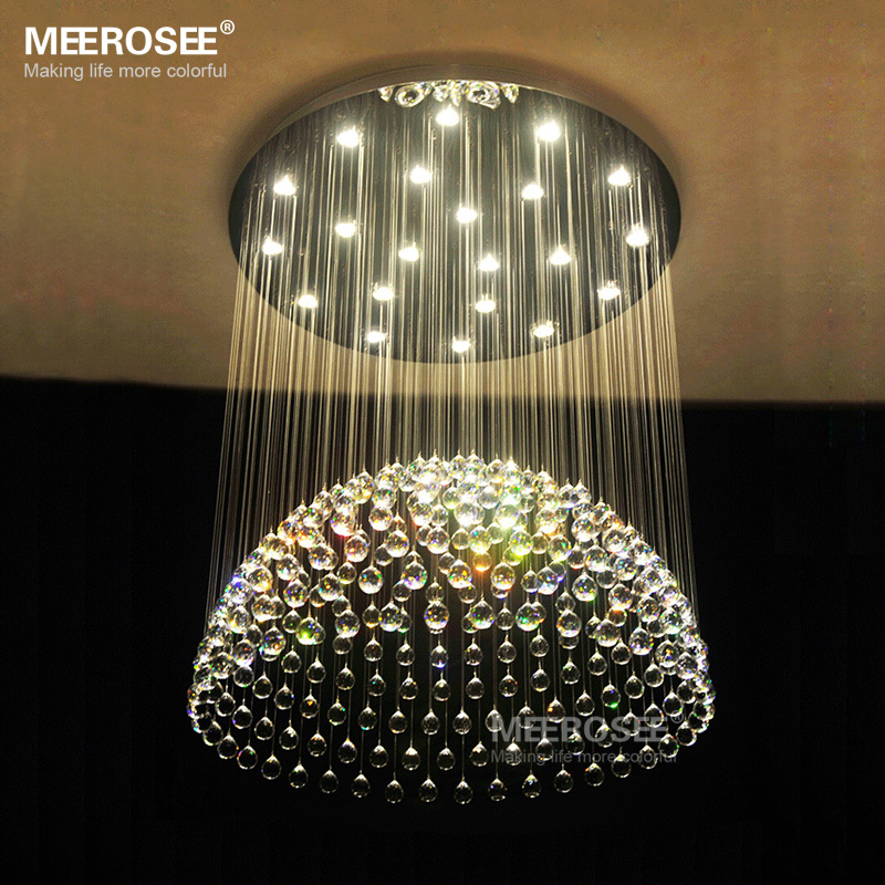 Large Crystal Ceiling Light Fixture Crystal Lamp For