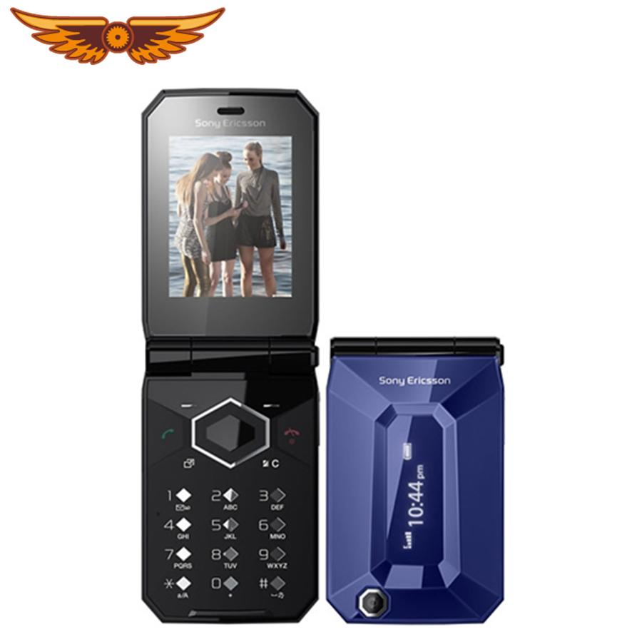F100 Original Unlocked Sony Ericsson Jalou 2.0Inches 3.15MP 240x320 pixels Flip Feature Phone Refurbished Cellphone Mobile Phone feature phone
