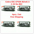 Cobra ESC CP30A BLheli_S Superior version 2-4S Lipos, No BECs for Mini drone, Fpv racing, 4pcs /pack, Free Shipping