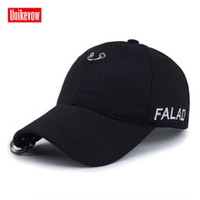 1Piece Baseball Cap with Iron ring Sports leisure hats  for men and women 100% cotton hip hop cap fashion snapback cap стоимость