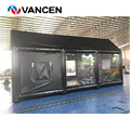 Высокое качество 0 9 мм ПВХ надувной спрей стенд заводская цена надувной автомобиль живопись палатка для авто