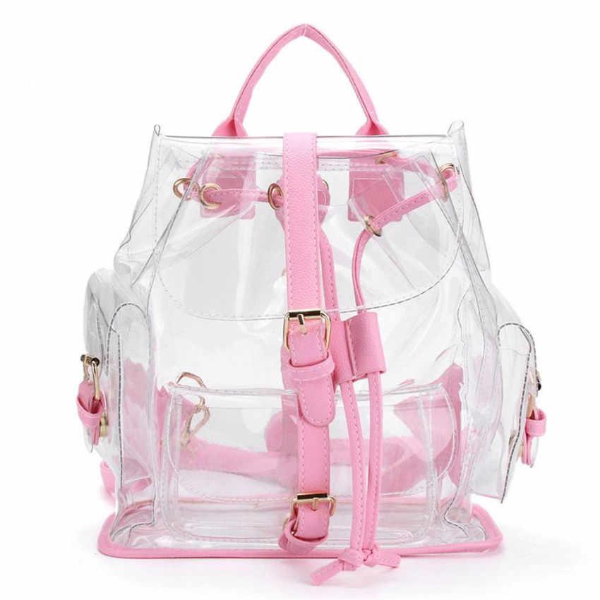 MOLAVE рюкзак для женщин надежные рюкзаки женски Для женщин прозрачный Пластик прозрачная прозрачность безопасности сумки May14