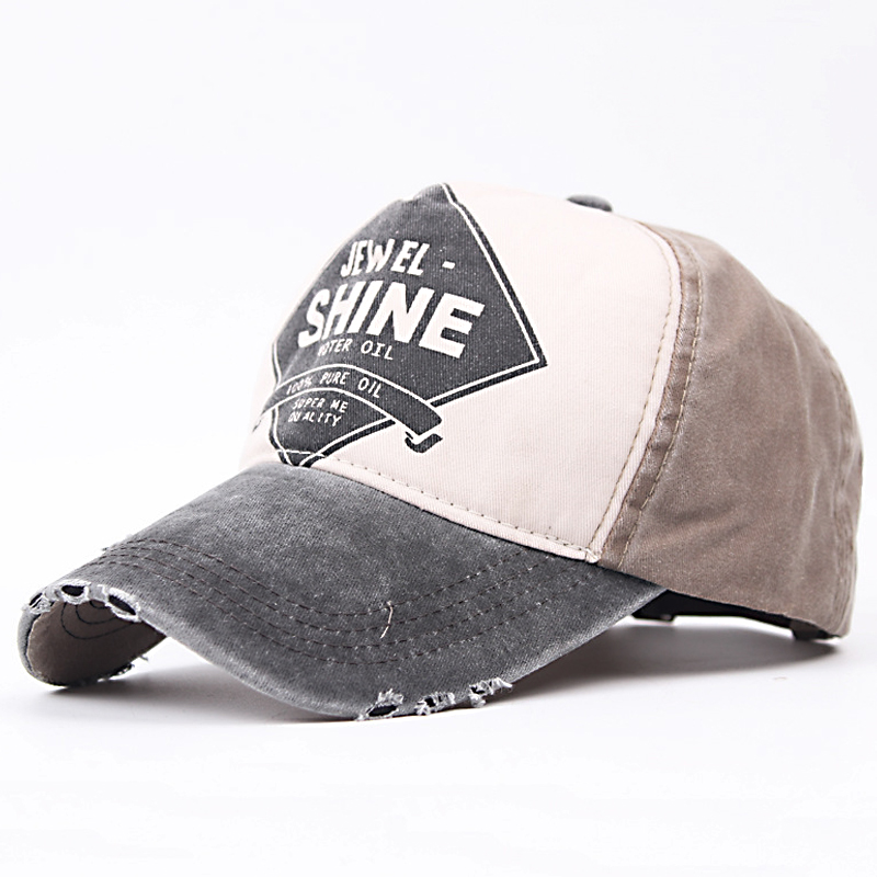 Wholesale Baseball Cap Snapback Hat Spring Cotton Cap Hip Hop Fitted Wash Cap Cheap Hats For Men Women Summer Cap fashion baseball cap snapback hat cotton bone vintage hip hop 5 panel fitted cap casquette cheap hats for men women summer caps