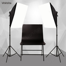 Photographic equipment Studio Set photographic light set photo shooting lamp softBox portrait photography CD15 T02(China)