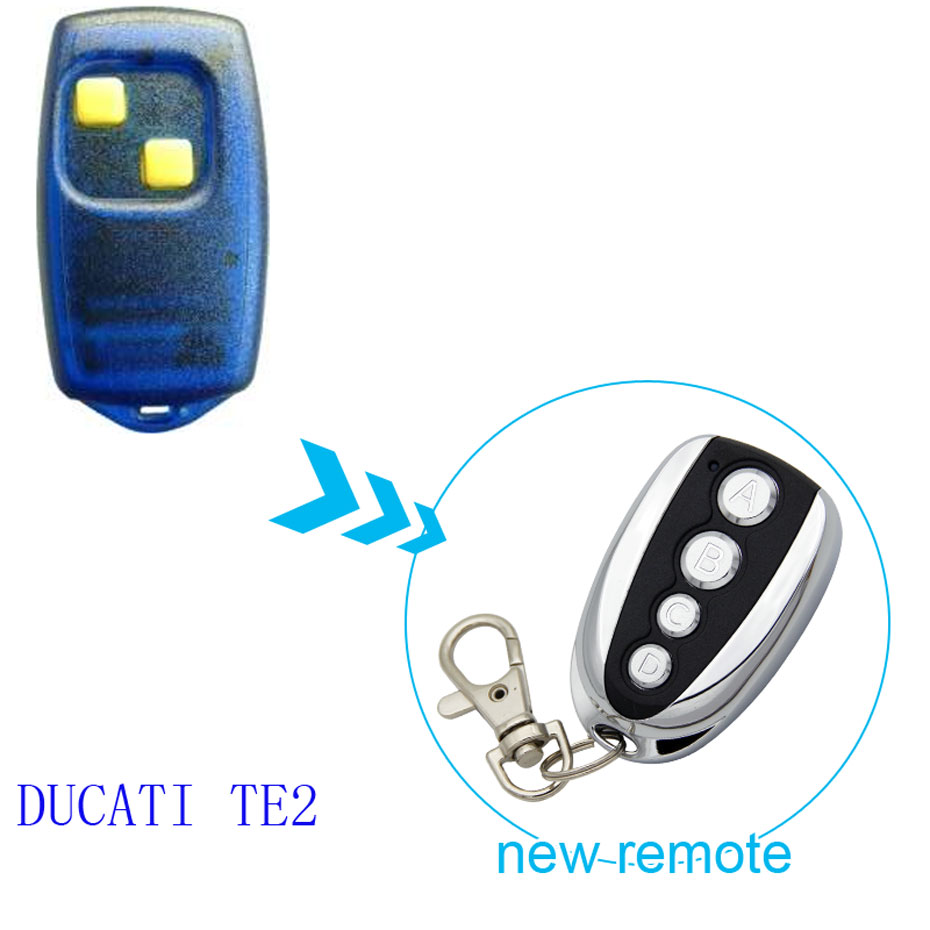 US $7 9 |DUCATI TE2 Cloning universal gate for garage remote control key  433 92mhz -in Remote Controls from Consumer Electronics on Aliexpress com |